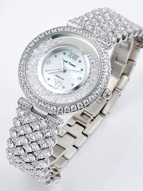 Đồng hồ nữ Royal Crown 2606 sliver