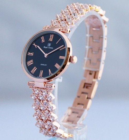 Đồng hồ nữ chính hãng Royal Crown 2610 rose gold